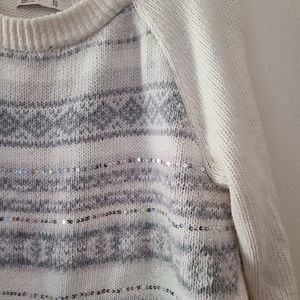 Old Navy Sequined Sweater